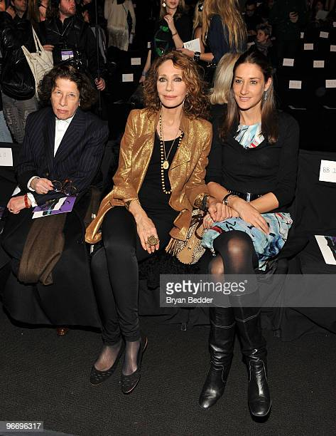 Fran Lebowitz attends the Diane Von Furstenberg Fall 2010 Fashion Show during MercedesBenz Fashion Week at The Tent at Bryant Park on February 14...