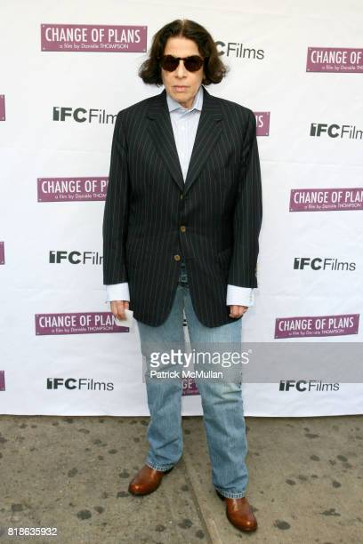 Fran Lebowitz attends The New York Premiere of 'CHANGE OF PLANS' at IFC Center on June 8 2010 in New York City
