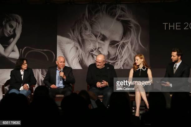 Fran Lebowitz Steve McCurry Peter Linbergh Jessica Chastian and Derek Blasberg attend The Pirelli Calendar Presents Peter Lindbergh On Beauty at...
