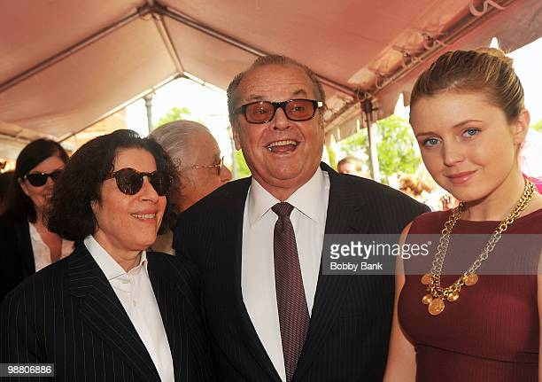 Fran LebowitzJack Nicholson and Lorraine Nicholson attend the 3rd Annual New Jersey Hall of Fame Induction Ceremony at the New Jersey Performing Arts...