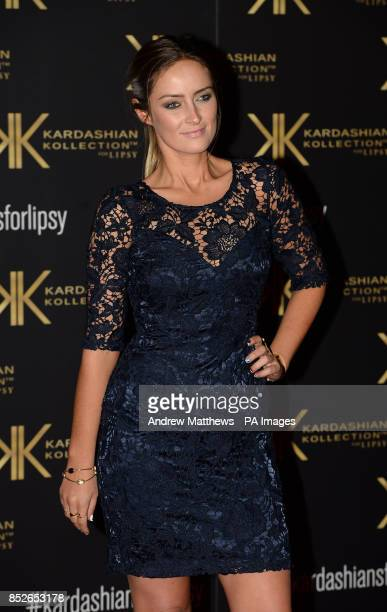 Fran NewmanYoung attending the Kardashian Kollection For Lipsy launch party at the Natural History Museum London PRESS ASSOCIATION Photo Picture date...