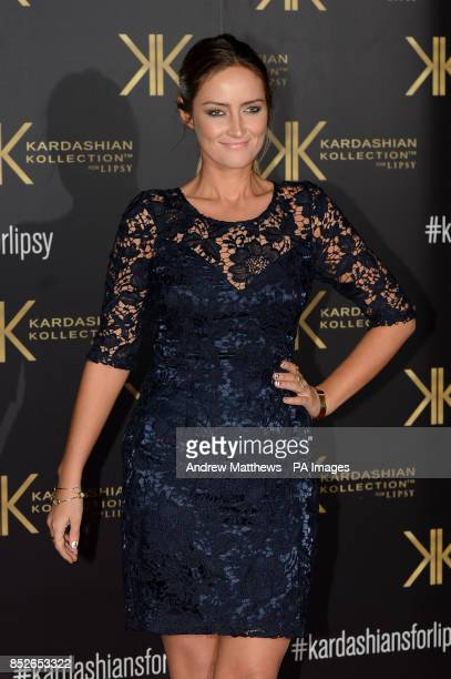Fran NewmanYoung attending the Kardashian Kollection For Lipsy launch party at the Natural History Museum London