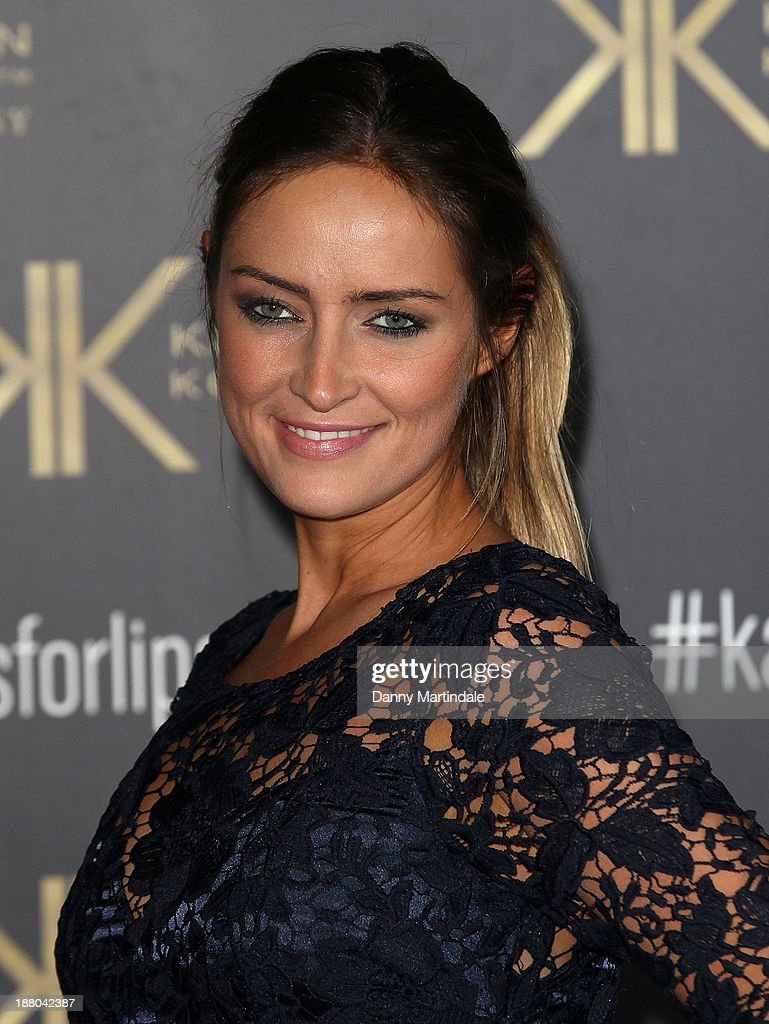 Fran Newman-Young attends the launch party for the Kardashian Kollection for Lipsy at Natural History Museum on November 14, 2013 in London, England.