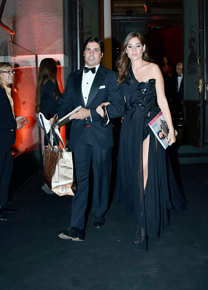 fran-rivera-and-lourdes-montes-are-seen-arriving-at-elle-30th-party-picture-id618509084