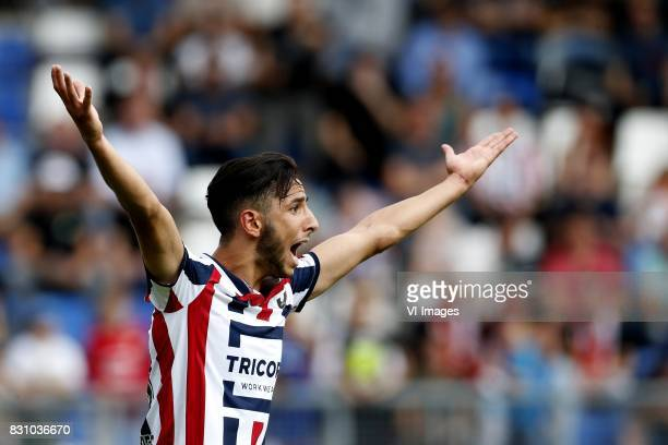 Fran Sol of Willem II during the Dutch Eredivisie match between Willem II Tilburg and sbv Excelsior at Koning Willem II stadium on August 13 2017 in...