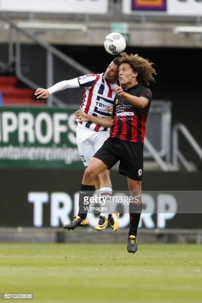Fran Sol of Willem II Wout Faes of Excelsior during the Dutch Eredivisie match between Willem II Tilburg and sbv Excelsior at Koning Willem II...