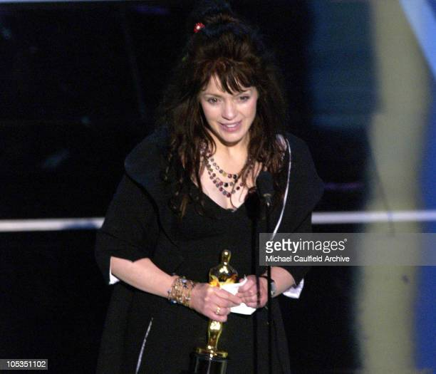 Fran Walsh winner for Best Original Song for 'Into the West' from 'The Lord of the Rings The Return of the King'