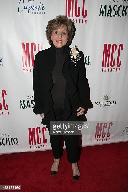 Fran Weissler attends MCC Theater's 2015 Gala Miscast 2015 at Hammerstein Ballroom on March 30 2015 in New York City
