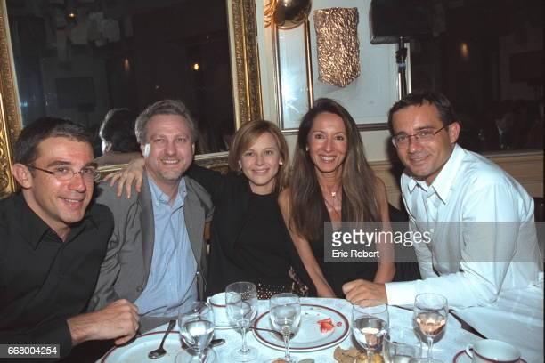 Franc Saurat Jean Yves Bigot Julie Snyder and Jean Luc Delarue