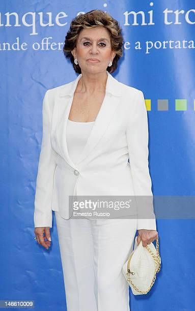 Franca Leosini attends the Palinsesti Rai photocall at Cavalieri Hilton Hotel on June 20 2012 in Rome Italy
