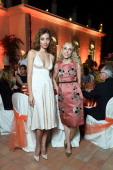 Franca Sozzani and Margareth Made attend the World Food Programme Charity Gala Hosted by MASERATI during the 60th Taormina Film Fest on June 15 2014...