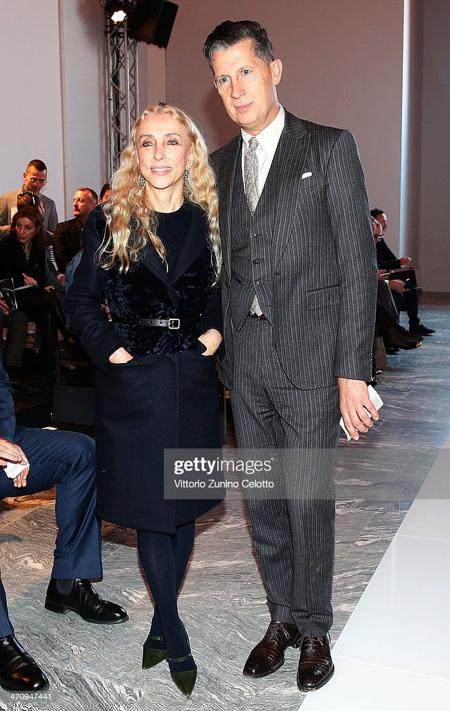 <a gi-track='captionPersonalityLinkClicked' href=/galleries/search?phrase=Franca+Sozzani&family=editorial&specificpeople=639425 ng-click='$event.stopPropagation()'>Franca Sozzani</a> and <a gi-track='captionPersonalityLinkClicked' href=/galleries/search?phrase=Stefano+Tonchi&family=editorial&specificpeople=2497117 ng-click='$event.stopPropagation()'>Stefano Tonchi</a> attend the International Woolmark Prize as part of Milan Fashion Week Womenswear Autumn/Winter 2014 on February 21, 2014 in Milan, Italy.