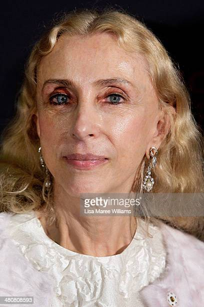 Franca Sozzani arrives at the L'Uomo Vogue and Woolmark Company Gala and Exhibition to celebrate L'Uomo Vogue magazine's March Issue dedicated to...
