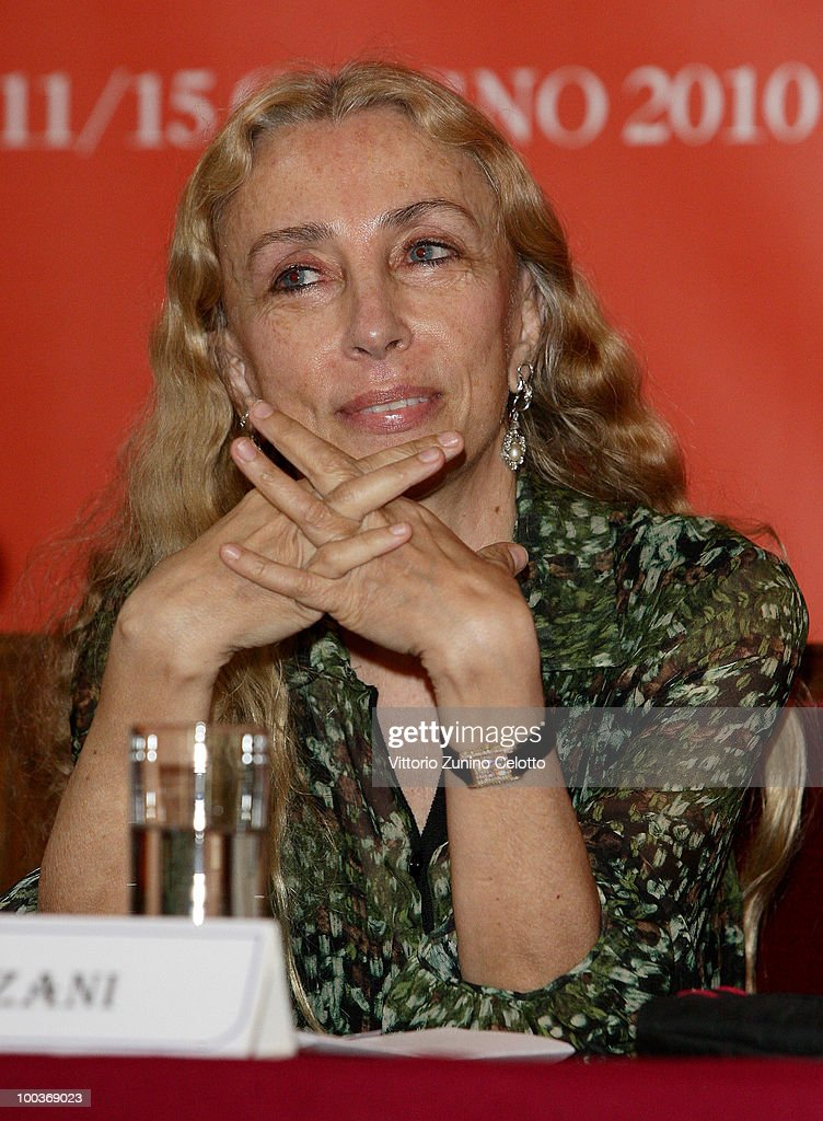 Franca Sozzani attends the Convivio 2010 Press Conference held at Palazzo Marino on May 24, 2010 in Milan, Italy.