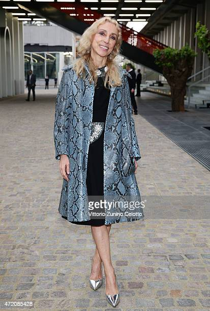 Franca Sozzani attends the Fondazione Prada Opening on May 3 2015 in Milan Italy
