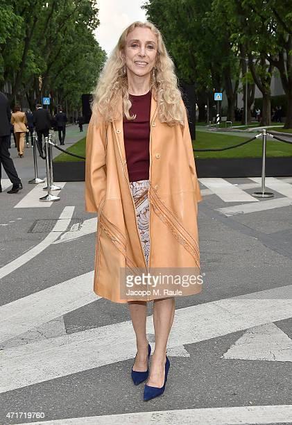 Franca Sozzani attends the Giorgio Armani 40th Anniversary Silos Opening And Cocktail Reception on April 30 2015 in Milan Italy