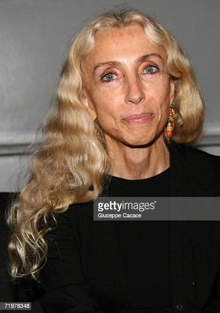 Franca Sozzani attends the Lancome Party at the Pelota on September 23 2006 in Milan Italy