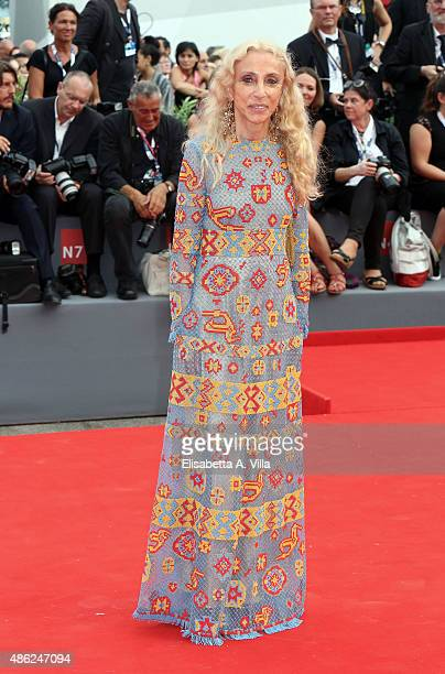 Franca Sozzani attends the opening ceremony and premiere of 'Everest' during the 72nd Venice Film Festival on September 2 2015 in Venice Italy
