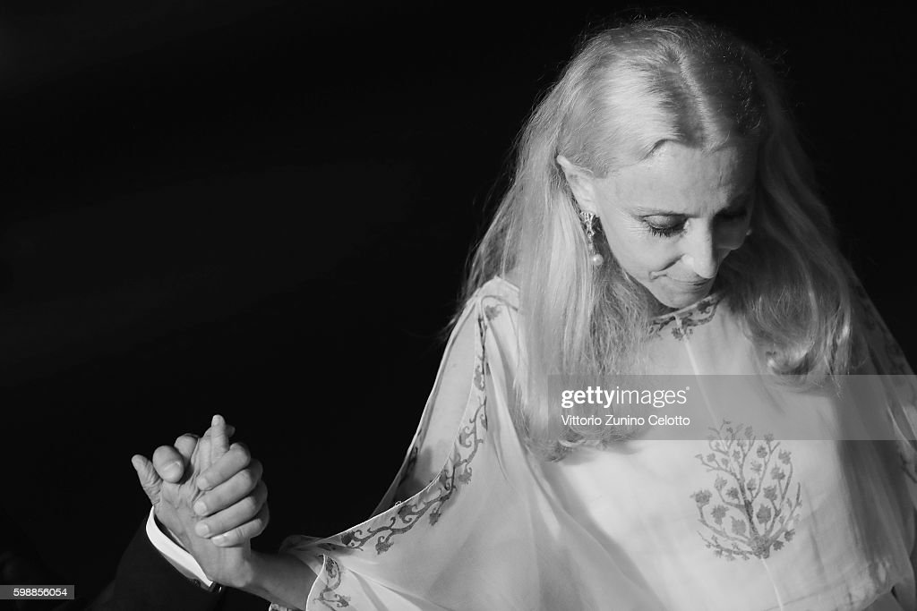 Franca Sozzani attends the premiere of 'Franca: Chaos And Creation' during the 73rd Venice Film Festival at Sala Giardino on September 2, 2016 in Venice, Italy.