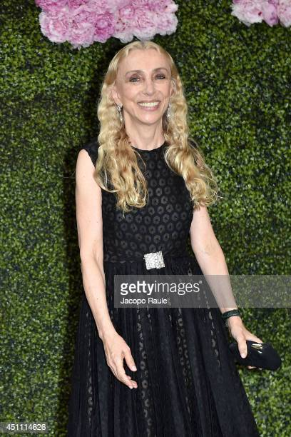 Franca Sozzani attends the Stella McCartney Garden Party during the Milan Fashion Week Menswear Spring/Summer 2015 on June 23 2014 in Milan Italy