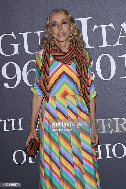 Franca Sozzani attends Vogue Italia 50th Anniversary during Milan Fashion Week Womenswear Spring/Summer 2015 on September 21 2014 in Milan Italy