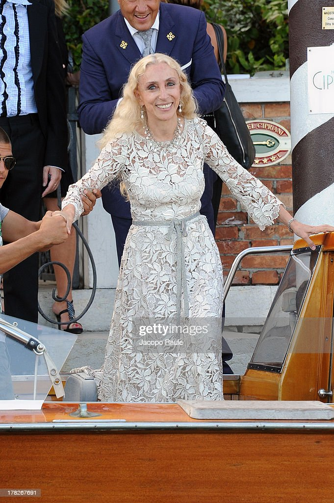 Franca Sozzani is seen during the 70th Venice International Film Festival on August 28, 2013 in Venice, Italy.