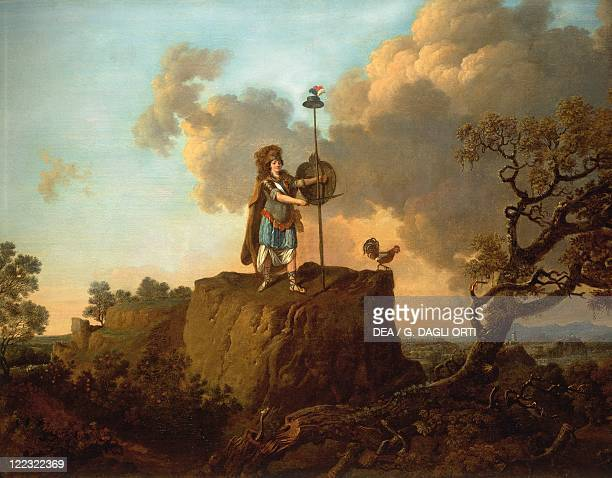 France 18th century Allegory of Freedom oil on canvas