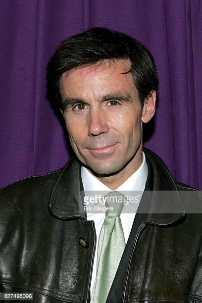 France 2 news anchorman and journalist David Pujadas