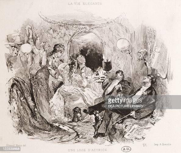 France A dressing room at the Opera of Paris 1873