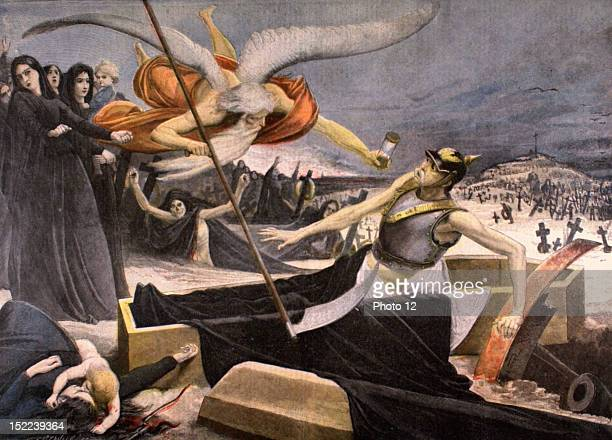 France Allegory on the death of Bismarck In 'Le Petit journal' 8141898