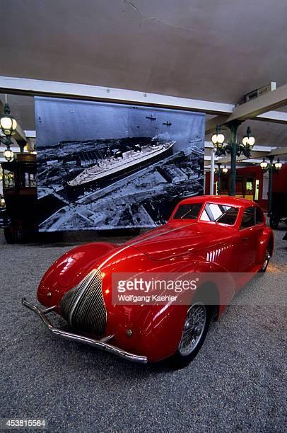 France Alsace Region Mulhouse National Automotive Museum Vintage Cars