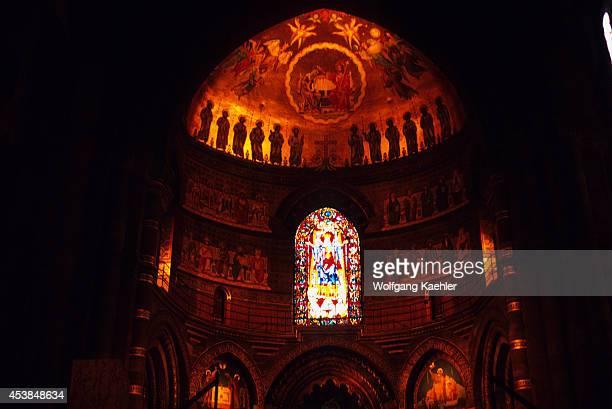 France Alsace Strasbourg Cathedral Of Notre Dame Interior
