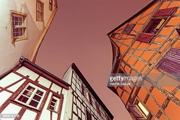 France, Alsace, Strasbourg, Old town architecture