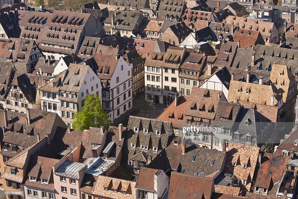 France, Alsace, Strasbourg, View of cityscape