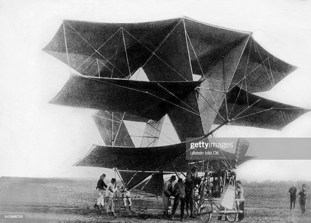 France avaition biplane by French Colonel Dorand which was not capable of flying date unknown around 1908