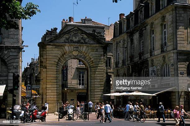 France Bordeaux Porte Dijeaux City Gate