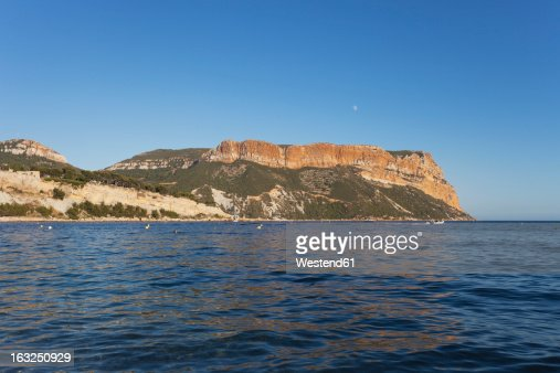 France bouche du rhone view of cap canaille stock photo for Bouches du rhon