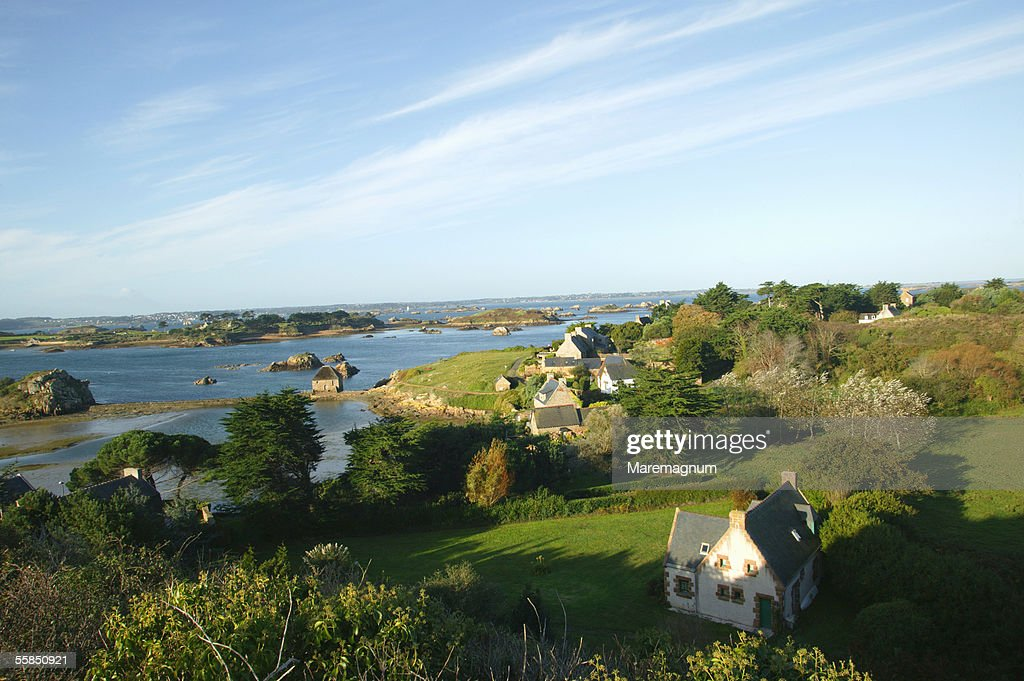 France, Bretagne, Brittany. Brehat Island