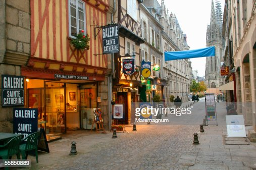France, Bretagne, Brittany. Quimper : Stock Photo