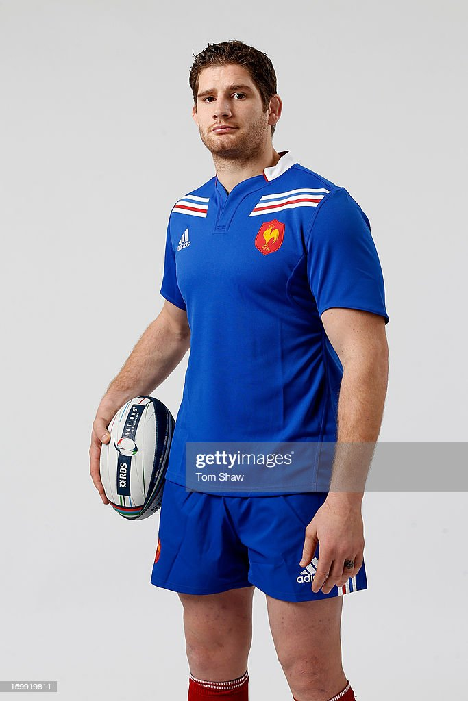 France captain Pascal Pape poses during the RBS Six Nations launch at The Hurlingham Club on January 23, 2013 in London, England.