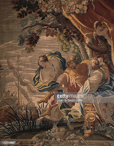 France Centre Cheverny Castle Tapestry Ulysses
