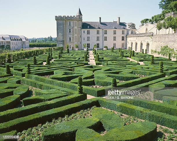 France Centre Loire Valley Villandry Castle built 1532
