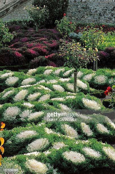 France Centre Loire Valley Villandry Castle gardens
