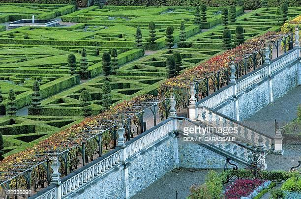 France Centre Villandry Castle gardens