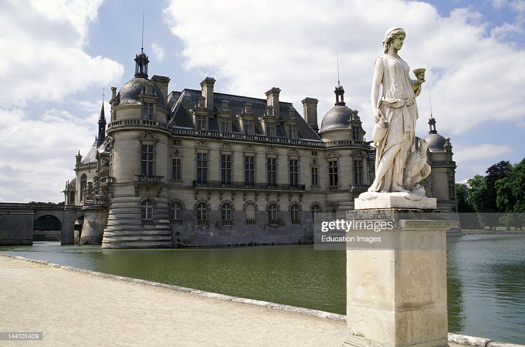 france chateau de chantilly pictures getty images. Black Bedroom Furniture Sets. Home Design Ideas