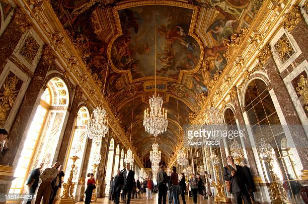 France cleans up Versailles 'Hall of Mirrors' in Versailles France on June 25 2007 The Hall of Mirrors at the Palace of Versailles