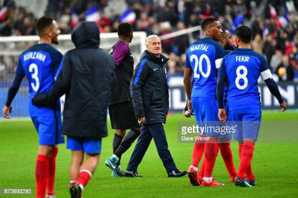 France coach Didier Deschamps during the international friendly match between France and Wales at Stade de France on November 10 2017 in Paris France