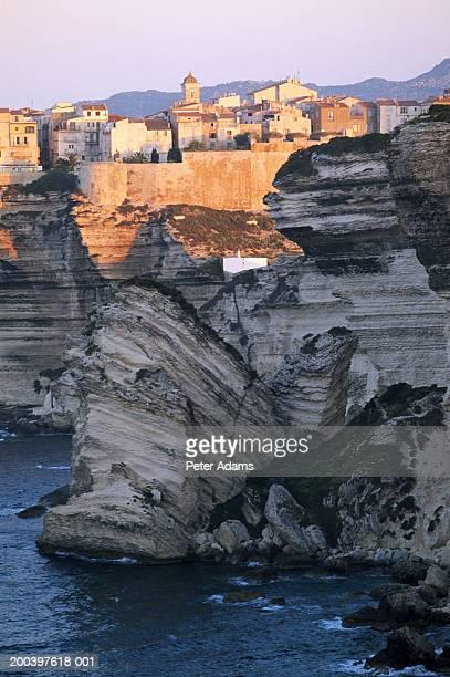 France, Corsica, Bonifacio skyline