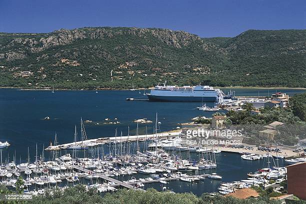France Corsica CorseduSud Porto Vecchio The port as seen from Old Town