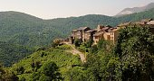 France, Corsica - village in the mountains